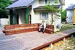 boardwalk and seat 2 nasu pension village.jpg