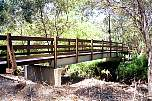 steel bridge with lockyer rail and boardwalk chermside hills.jpg