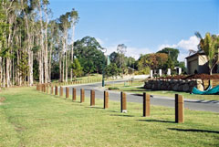 Baychester Range of Timber Bollards