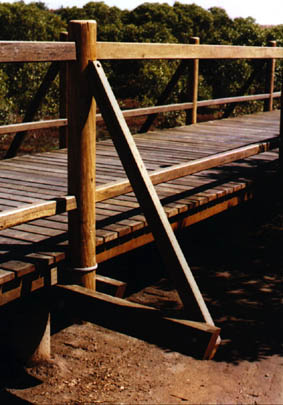 Outdoor Structures Australia - Hardwood boardwalk examples