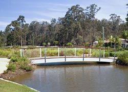 Arched Steel Bridges from Outdoor Structures Australia