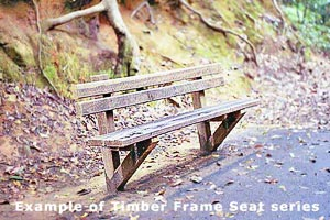 >Heavy Duty Seat (Timber Frame)