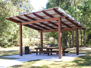 Outdoor Structures Australia - 6m x 6m Lindsay Series park shelter
