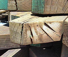 Timber product substitution example