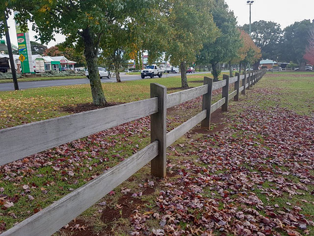 Outdoor Structures Australia - Two Rail 'Heavy Duty' Post & Rail fence