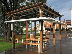 Outdoor Structures Australia - Urban Park Shelters