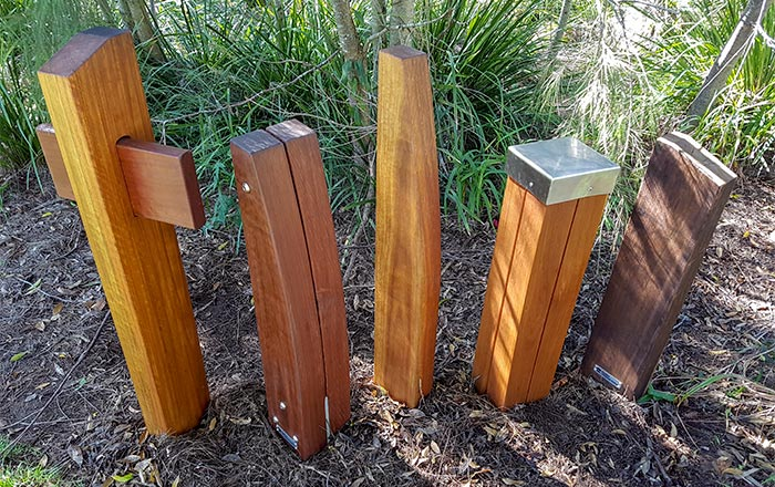 OSA Timber Bollards