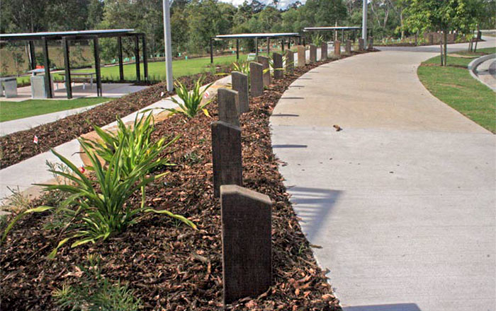 OSA Australian Hardwood Timber Bollards