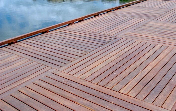 OSA Hardwood Decking