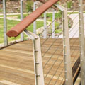 Cruiserline timber handrail image