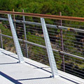 Cycleway Timber Handrail