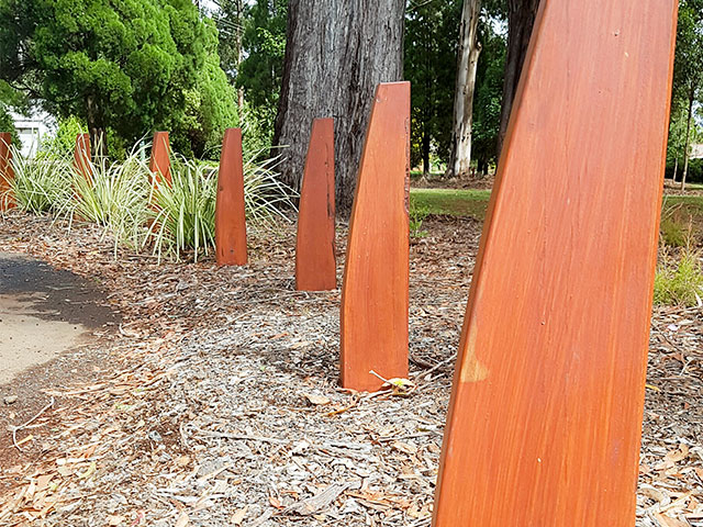 Eclipse Bollard from Outdoor Structures Australia