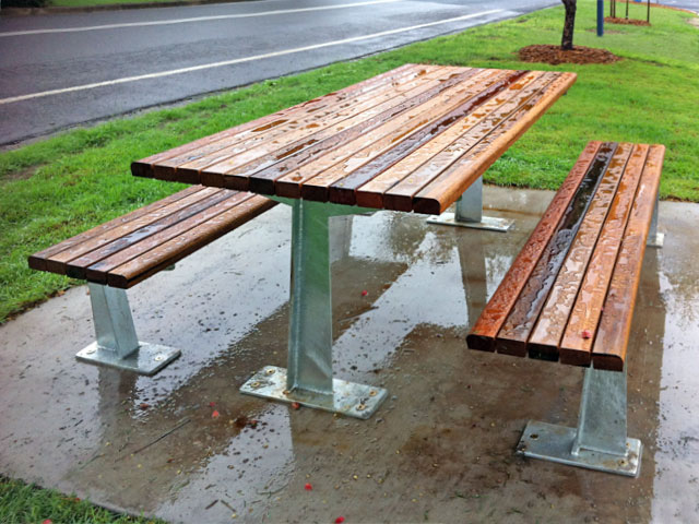 Example image of the Flinders BBQ table
