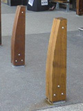 Custom Eclipse timber bollards thumbnail